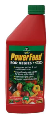 powerfeed for vegies liquid fertiliser