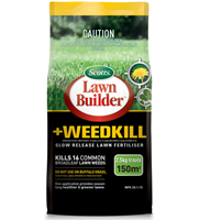Scotts Lawn Builder + Weedkill