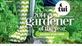 Tui Gardener of the Year