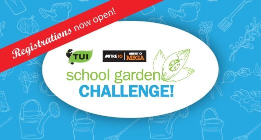 Tui School Garden Challenge Registrations are Open!