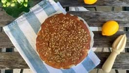 Nadia's Honey Glazed Cake with Sunflower Seeds