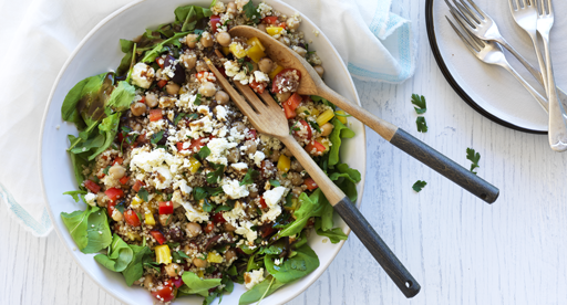 Mediterranean Spring Power Salad