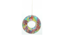 Mosaic Rainbow Bird Feeder