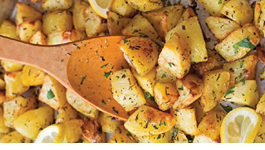 Crispy Lemon Potatoes