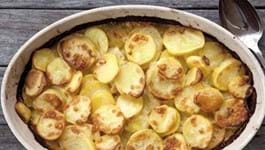 Potato Gratin with Gruyere and Garlic