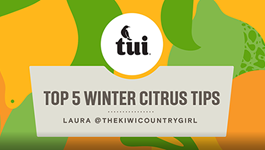 Laura's top 5 winter citrus tips