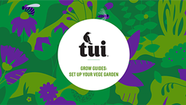Tui Grow Guides - Setting up your vege garden