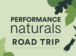 Tui Performance Naturals Road Show